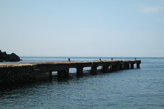 旧正野谷桟橋